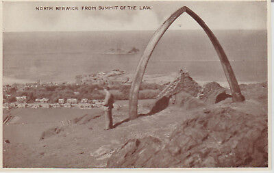 North Berwick From Summit Of The Law  - Scotland - Postcard #18976