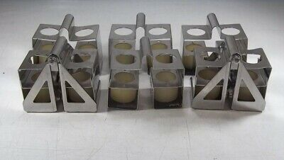 Lot Of 6 Dupont Instruments Pn00648 Centrifuge Swing Rotor Bucket Tube Insert