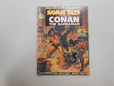 Savage Tales #2 featuring Conan The Barbarian! (1973, Marvel)! VG4.5+! LOOK!