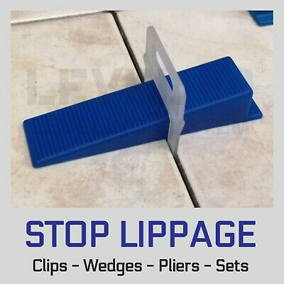 Tile Leveling Spacer System Levello Light Clips Wedges Pliers Lippage Level