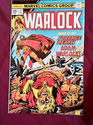 Warlock #11 Thanos Magus the In-Betweener fine