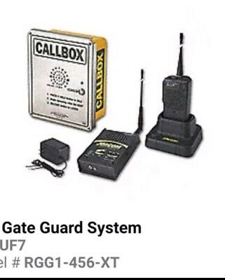 Call Box system Ritron UHF RGG1-456-XTcall box,with desktop and handheld units