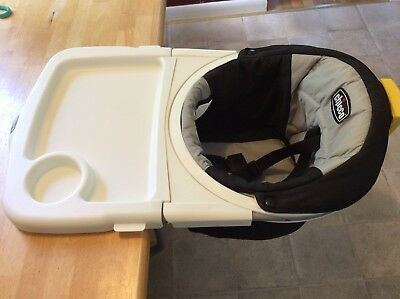 Chicco 360° Rotating Booster Baby Feeding Chair Seat Hook On Table 6-36 Months