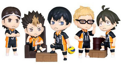 Haikyuu Volleyball Deformed Figure Whole Set Tobio Yu Kei Tadashi Asashi @85181