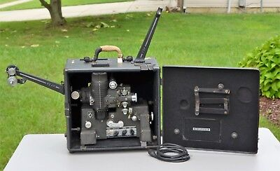 VTG Bell & Howell Filmosound ACADEMY 16mm Movie Film Projector w/ Tube Amplifier