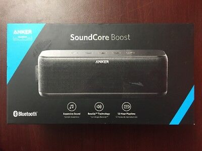 Anker SoundCore Boost 20W Portable Recharge Bluetooth Speaker Water-Resistant