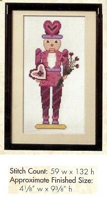 Valentine Nutcracker   -  Cross Stitch Pattern Only Hm - Ryq