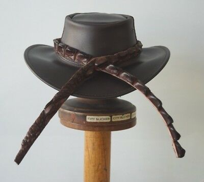 Crocodile leather HAT BAND Over 1m in Length  High Ridge Tail  HAT EXTRA
