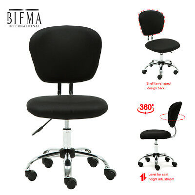 YAMASORO Office Mesh Chair Computer Desk Fabric Adjustable 360° Swivel Lift