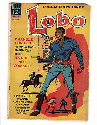 Lobo #1 (1965, Dell) LOW GRADE RESTORED 1st African American Title Character!