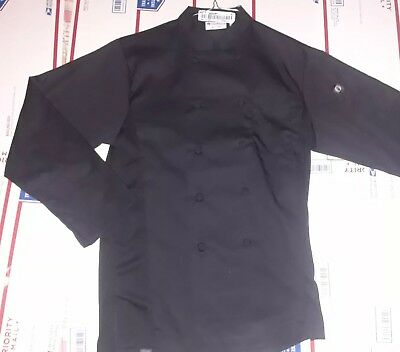 Chef Works LONSLEEVE CHEF'S COAT JACKET L-RG LARGE 64449-35EXCELLENT CONDITION