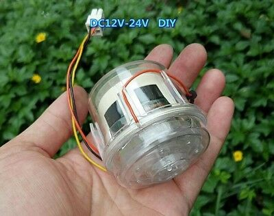 DIY brushless vacuum cleaner Blowing dust motor high speed Twin turbine
