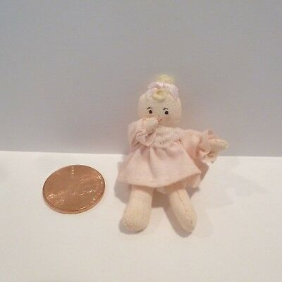 Miniature Cloth Baby Doll    Deals Today 9/21    100 Listings 10.00 Each