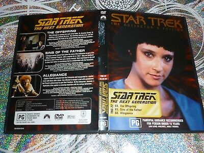 Star Trek The Next Generation (Collectors Edition) Tng 22 (Dvd, Pg) (132788 A)