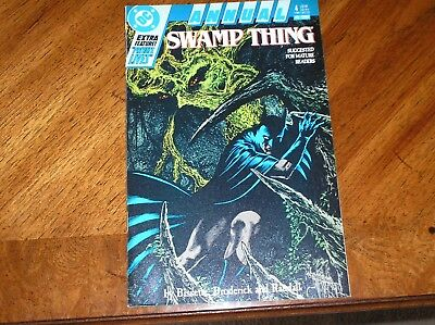 Swamp Thing Annual #4 1988 Threads With Batman 5.0 VG/FN Condition