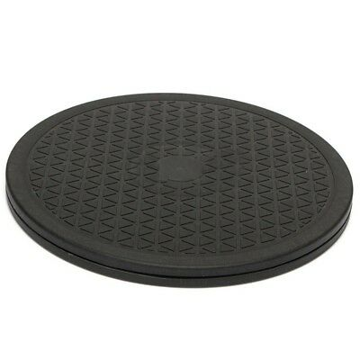 10 Inch Black Rotating Swivel Turntable Plate Lazy Home Kitchen Food Tool C6O7