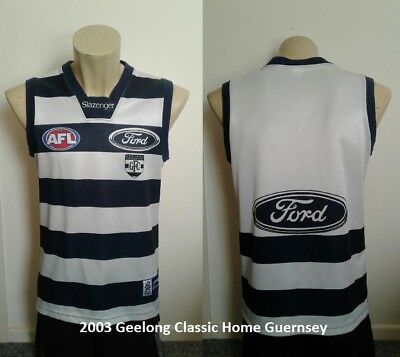 2003 Geelong Classic Home Guernsey Size L