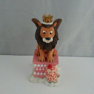 Rudolph Island of Misfits Toys Figurine King Moonracer Winged Lion & Elephant