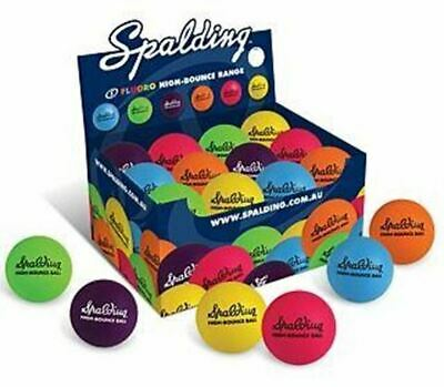 Spalding Fluoro High Bounce Ball