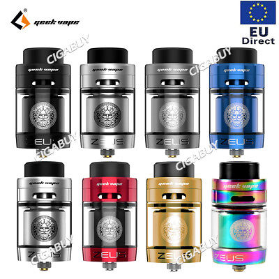 Authentic GeekVape Zeus Dual single Verdampfer 26mm 4ml RTA Atomizer E-Zigarette