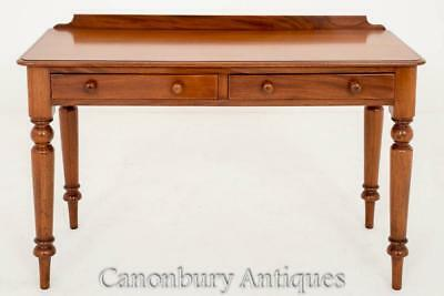 Victorian Side Writing Table Desk Circa 1860 Mahogany