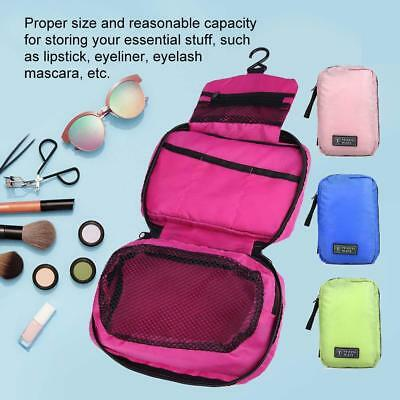 Travel Toiletry Bag Polyester Organizer Cosmetic Case Makeup Beauty Bag Hanging