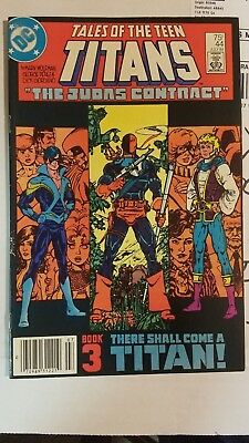Tales of the Teen Titans 44 First Nightwing Rare Newsstand Issue
