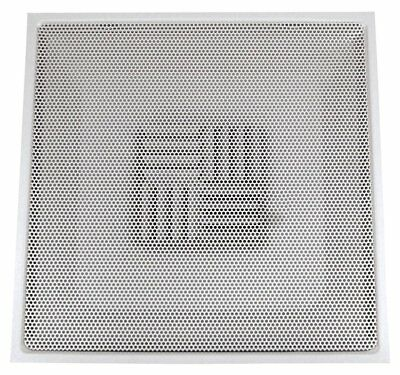 SPEEDI-GRILLE TB-PAB 14 24-Inch by 24-Inch White Drop Ceiling T-Bar  Perforated