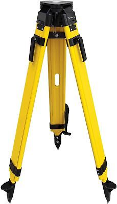 SitePro 01-WDF20-B 5/8-11 Heavy Duty Fiberglass and Wood Tripod with Quick
