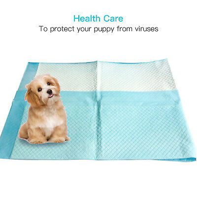 100PCS 30x36''  Heavy Absorbency Dog Puppy Training Wee Wee Pee Pads Underpads
