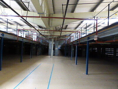 Used Mezzanine Floors Made To Your Specification From £35 Per Sq Metre