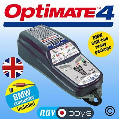 Optimate 4 Bmw/ducati Can Bus 12V Battery Saving Charger, Tester & Maintainer