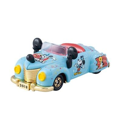 Tokyo Disney Resort 2018 Mickey Mouse 90th Anniversary Tomica Roadster