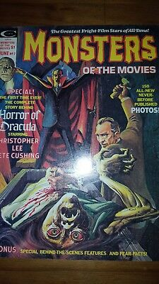 Monsters of the movies. Horror of dracula. 1975
