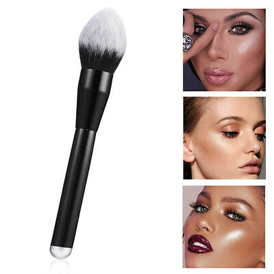 Newest Large Soft Powder Big Blush Flame Brush Foundation Makeup Tool Cosmetic