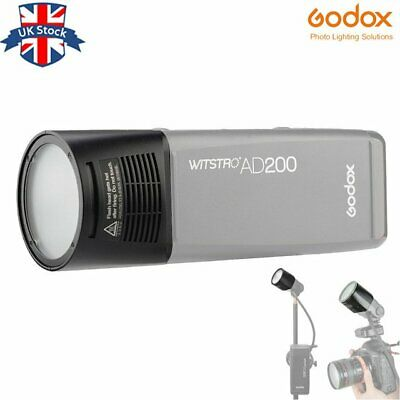 UK stock! Godox H200R Ring Flash Head Separation Extension Head For AD200 Flash