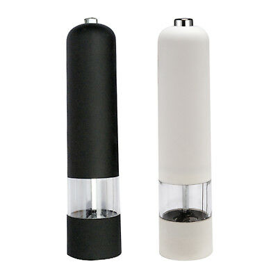 2 Colors,Salt And Pepper Grinders,Automatic Electric Spice Mills Shaker Grinder