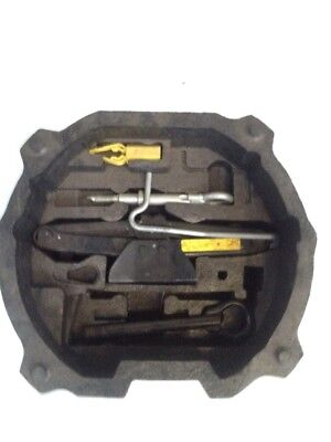 Peugeot 508 genuine In The Boot Emergency Spare Wheel Kit In A Tray Tow Eye Jack