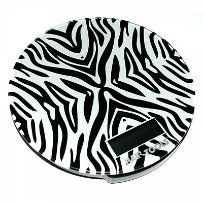 Hair Tools Measuring/weighing Scales Zebra Print For Hair Colour Salon/home
