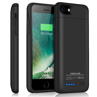 Magnetic Battery Charger Case Back Power Bank Backup Pack For iPhone 6 6S 7 8