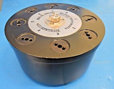 Sorvall Centrifuge Rotor Model SV-288 Vertical Rotor 20K RPM with 8 x 36mL