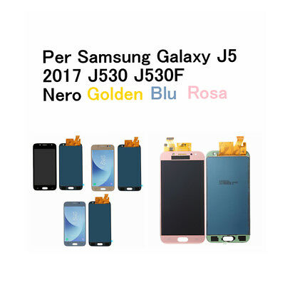 PER SAMSUNG GALAXY J5 2017 J530 J530F Schermo Display LCD Touch Screen VETRO RL2