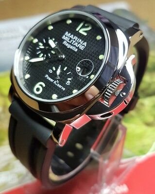 Montre type Militaire Neuve 44mm Date Power Reserve NEW Military PARNIS