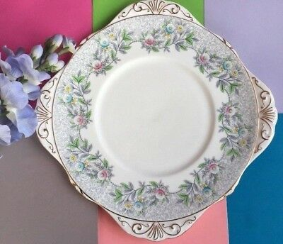 Vintage / Art Deco A.B.Jones / Grafton China Tea Set Cake Plate / Sandwich Plate