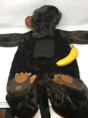 animal planet monkey ape gorilla plush halloween costume unisex 12 18 months