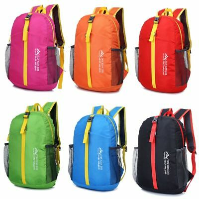 Portable Backpack Foldable Lightweight Outdoor Bag Travel Daypack Camping Hiking