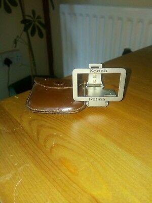Vintage Kodak Retina And Case