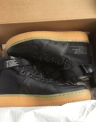 Nike SF Air Force 1 Mid Urban Utility Size 8 Goddess Of Victory (Black)