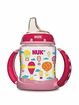 NUK Hot Air Balloons Learner Cup in Girl Patterns, 5-Ounce