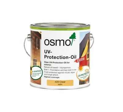 OSMO UV-Protection-Oil Extra CLEAR Satin 2.5L Exterior 420